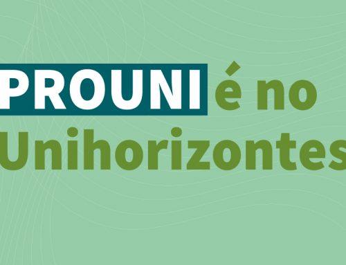Inscrições do Prouni começaram nesta terça-feira (11); Unhorizontes oferece mais de 650 bolsas