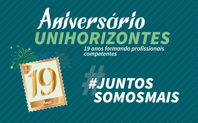 Unihorizontes celebrou 19 anos de atividades no domingo (19)