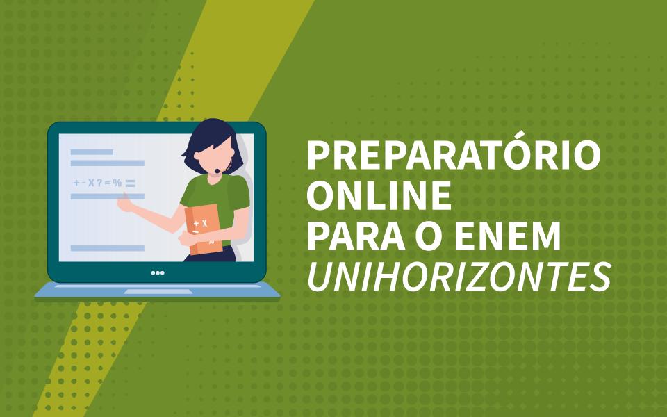 Preparatório online para o Enem tem início neste sábado (24) de 8h às 10h