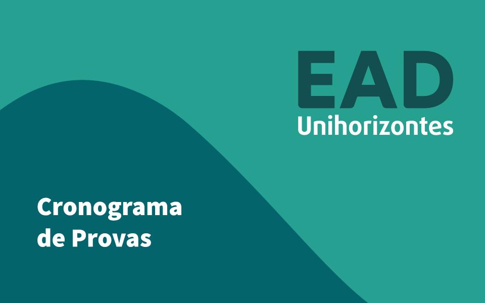 EaD Unihorizontes divulga novo cronograma de provas online
