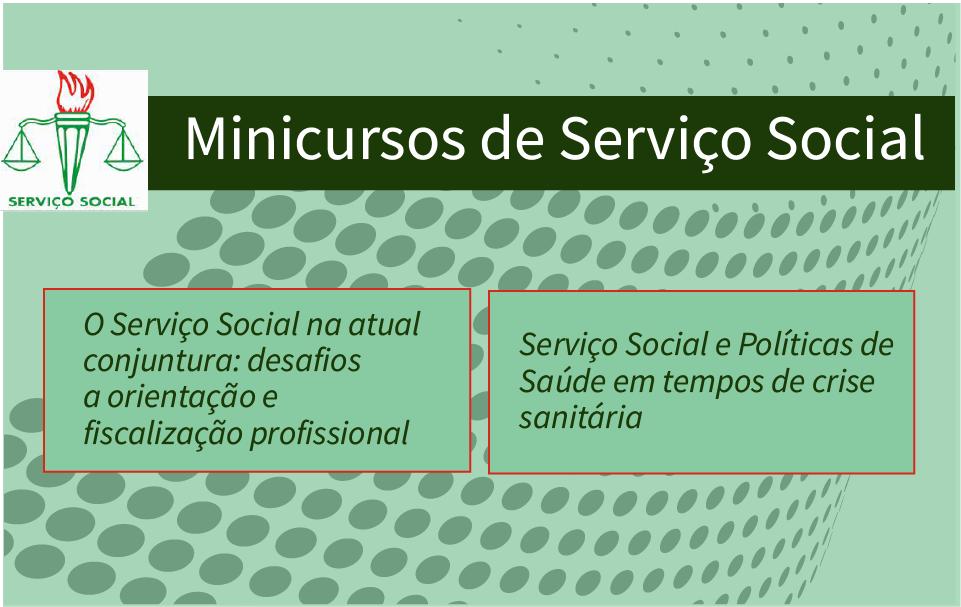 Curso de Serviço Social oferece minicursos